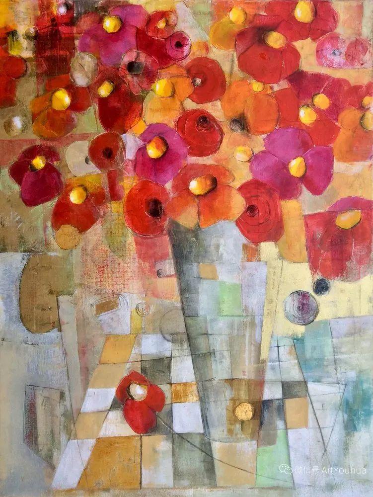 花卉欣赏,南非女艺术家达琳·梅林作品选(上)插图13