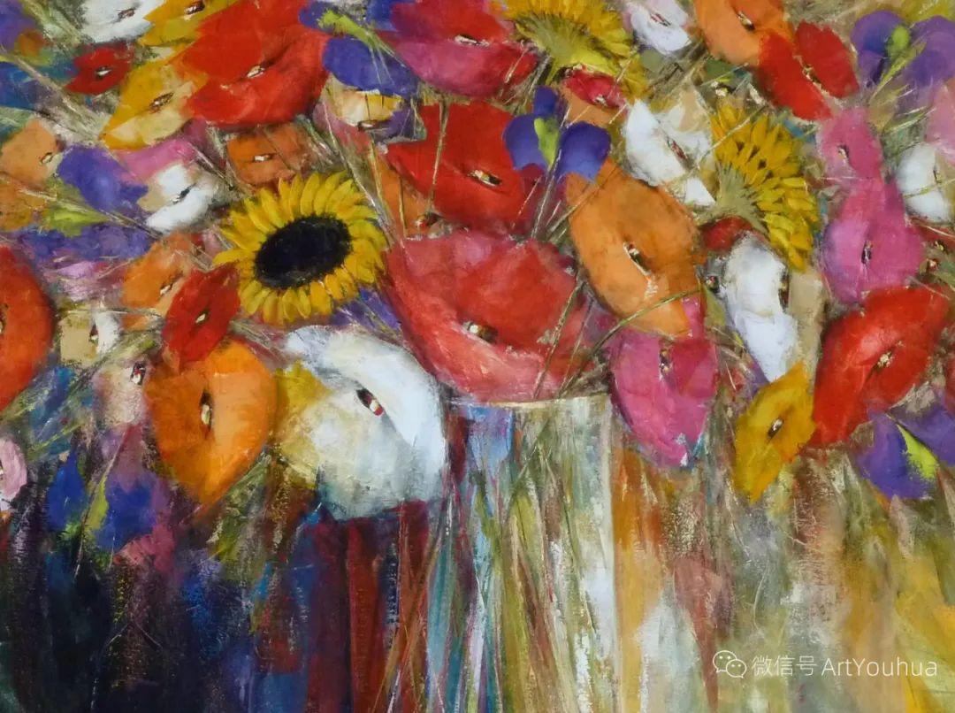 花卉欣赏,南非女艺术家达琳·梅林作品选(上)插图15