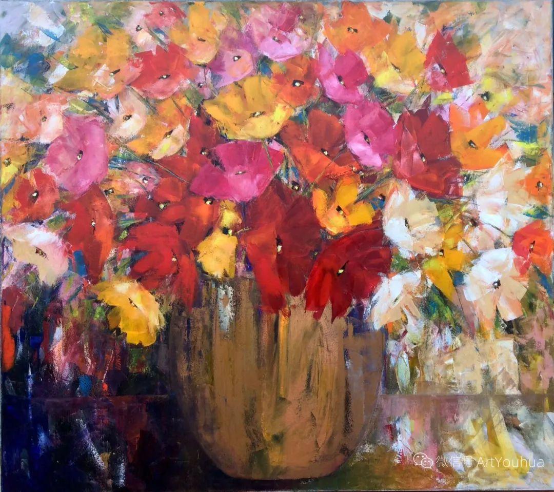 花卉欣赏,南非女艺术家达琳·梅林作品选(上)插图23
