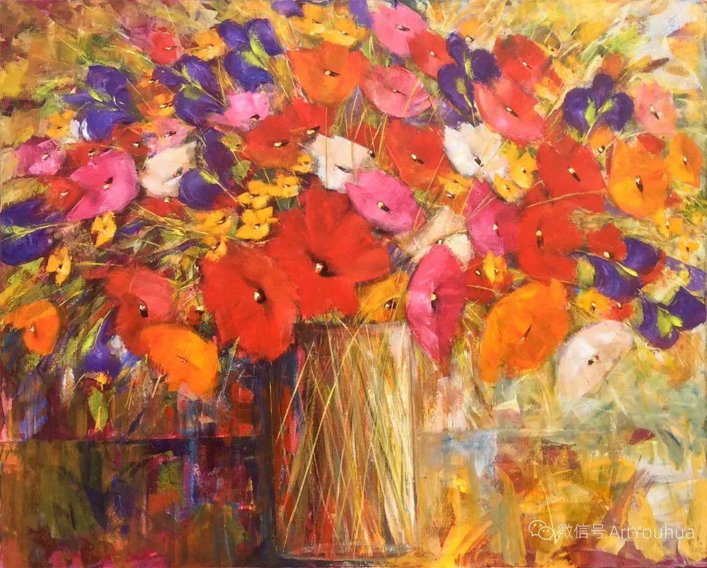花卉欣赏,南非女艺术家达琳·梅林作品选(上)插图27