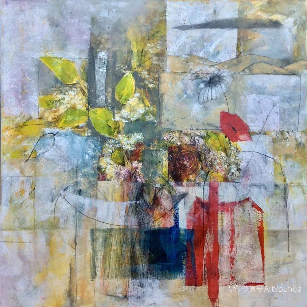 花卉欣赏,南非女艺术家达琳·梅林作品选(上)插图31