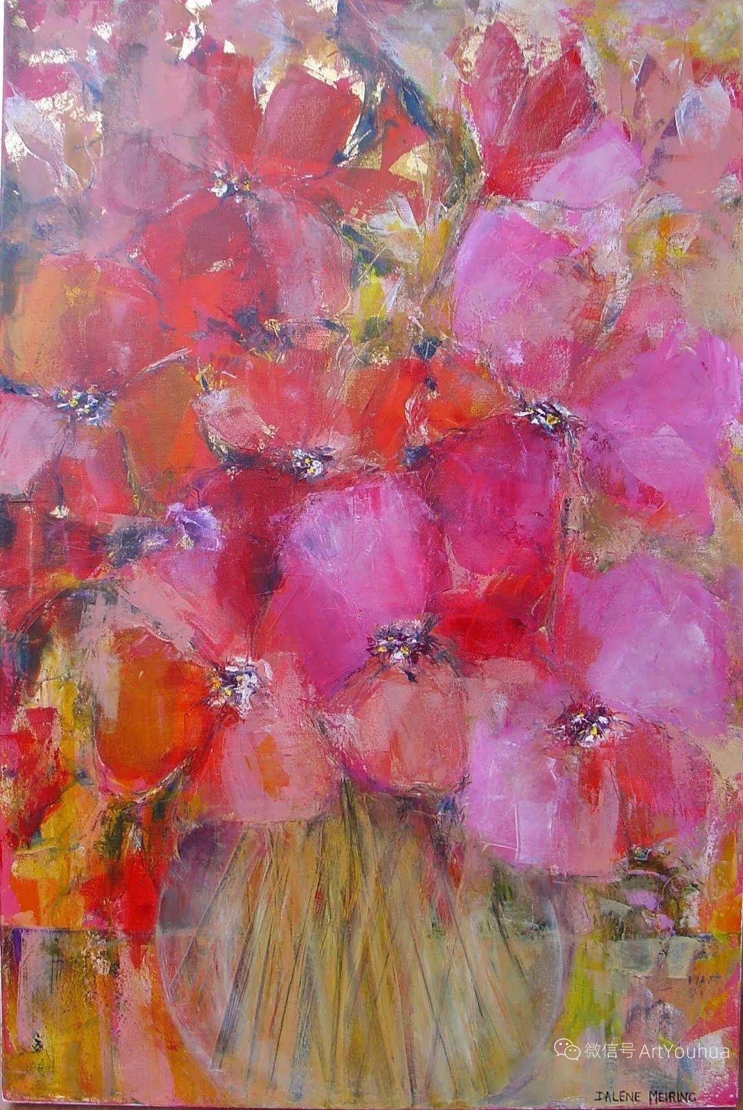 花卉欣赏,南非女艺术家达琳·梅林作品选(上)插图33