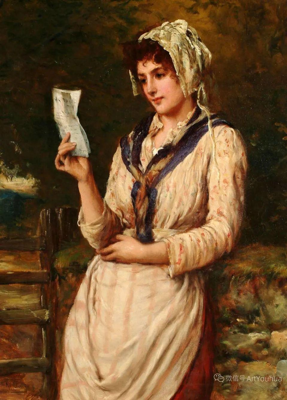 纯情与美丽,英国画家威廉·奥利弗作品选插图9