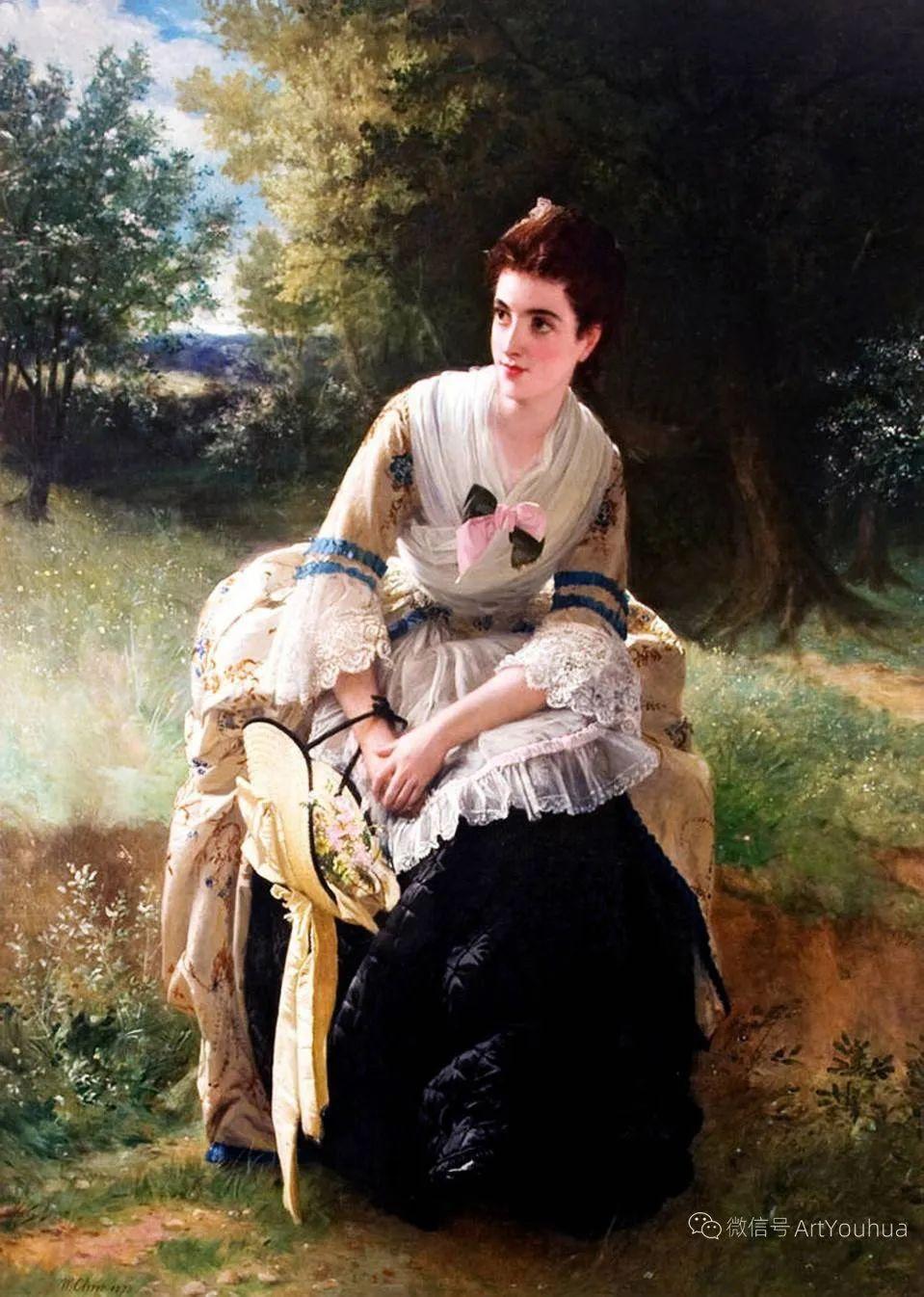 纯情与美丽,英国画家威廉·奥利弗作品选插图11