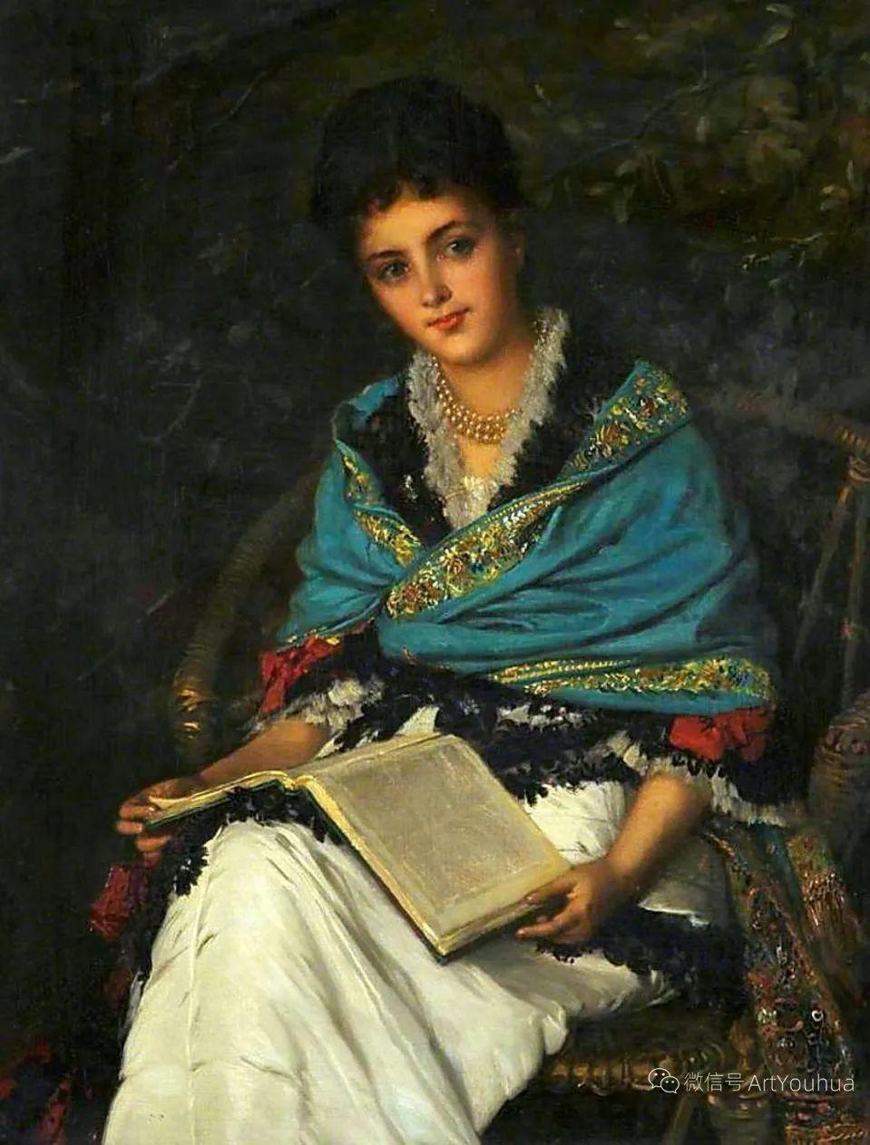 纯情与美丽,英国画家威廉·奥利弗作品选插图15