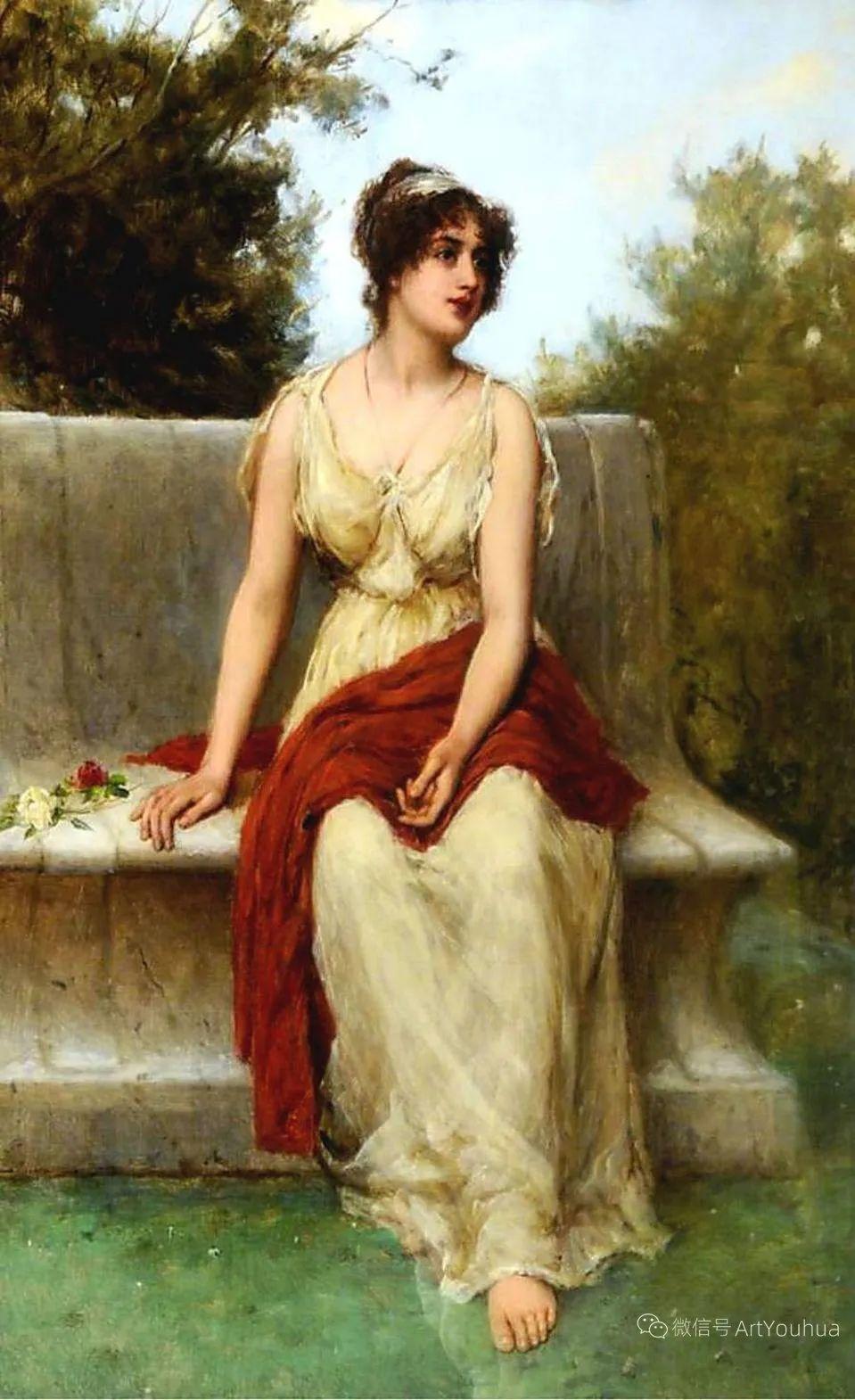 纯情与美丽,英国画家威廉·奥利弗作品选插图19