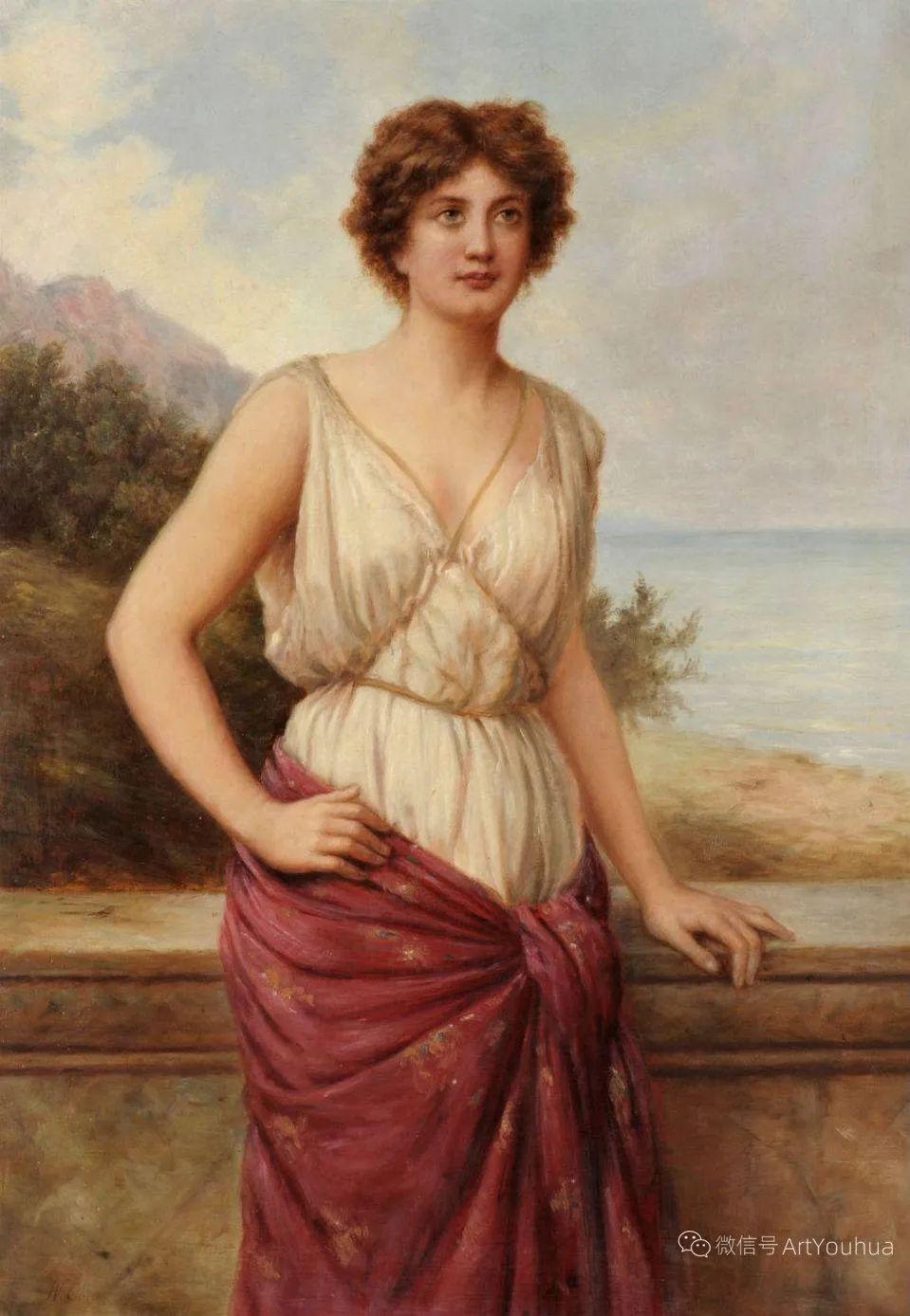 纯情与美丽,英国画家威廉·奥利弗作品选插图21