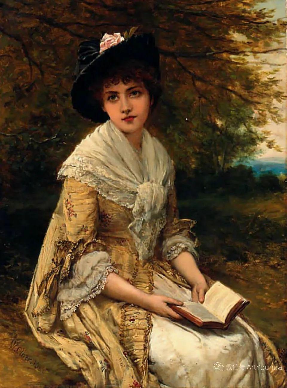 纯情与美丽,英国画家威廉·奥利弗作品选插图25