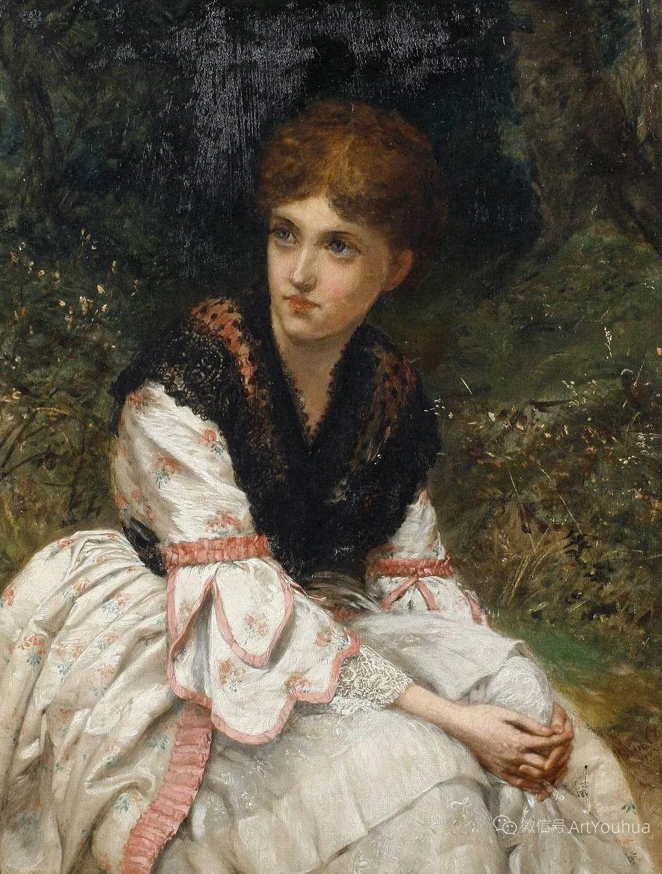 纯情与美丽,英国画家威廉·奥利弗作品选插图31