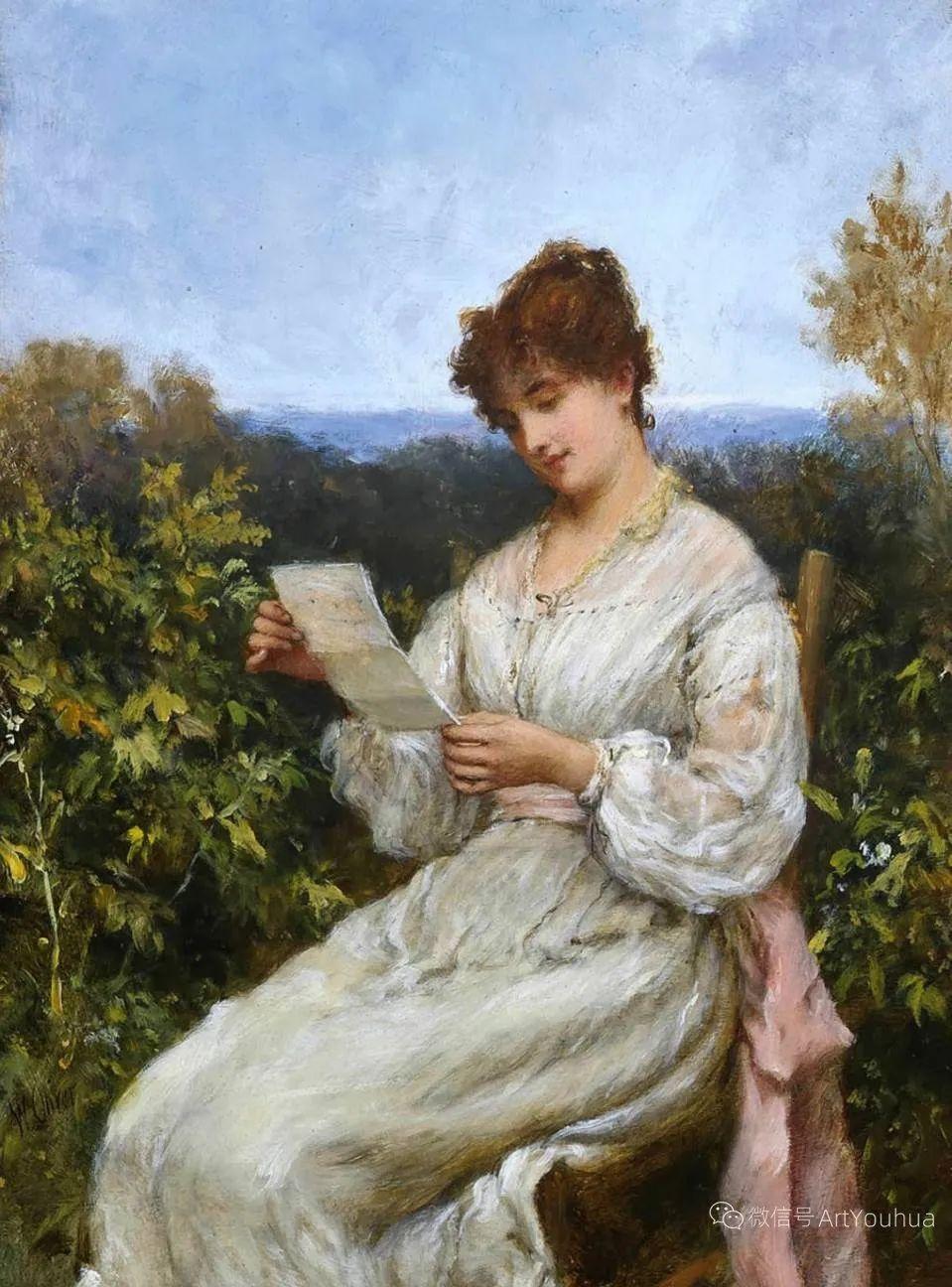 纯情与美丽,英国画家威廉·奥利弗作品选插图41