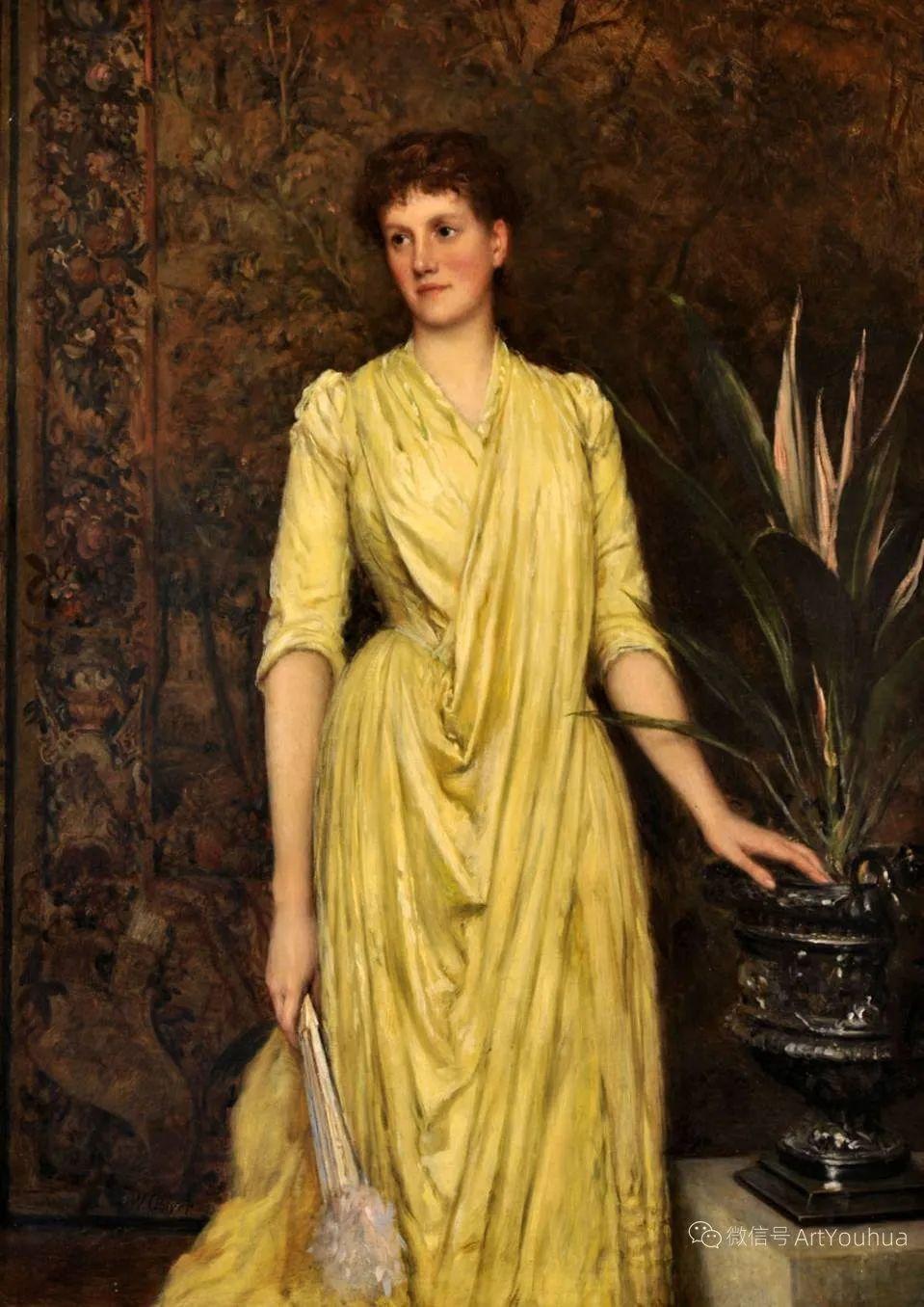 纯情与美丽,英国画家威廉·奥利弗作品选插图43