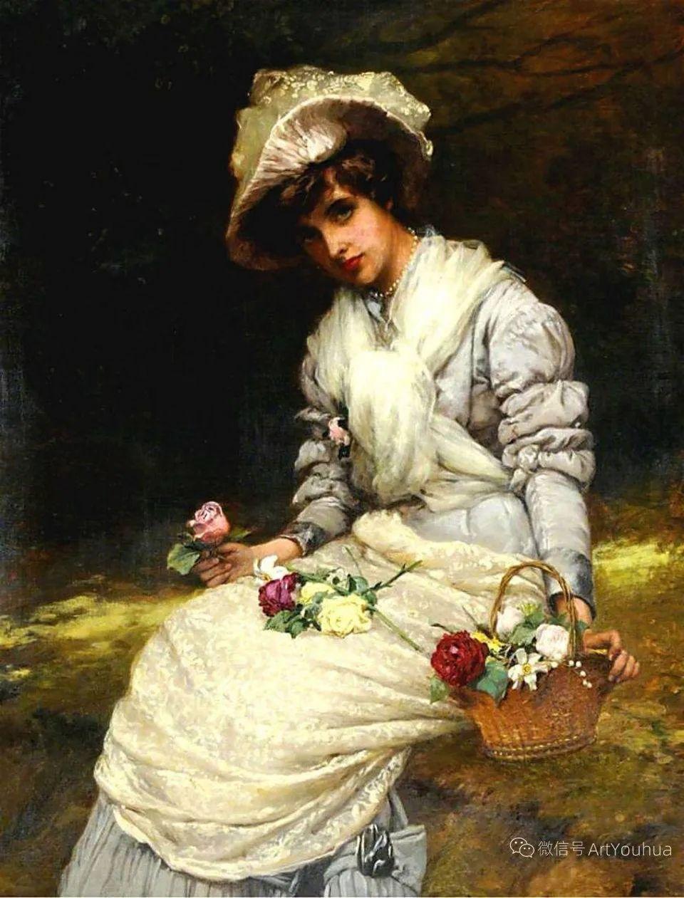 纯情与美丽,英国画家威廉·奥利弗作品选插图53