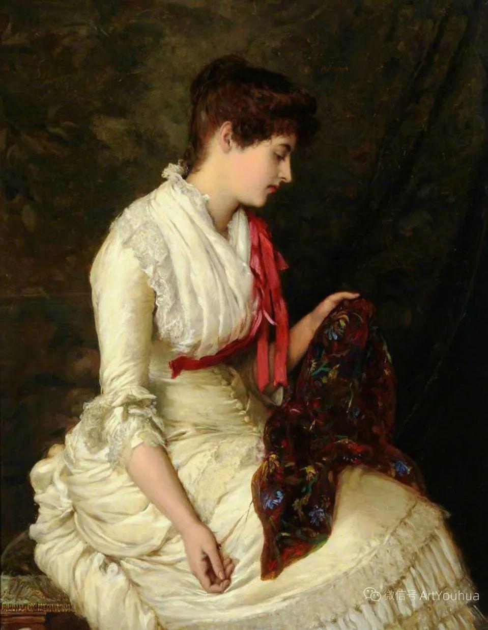 纯情与美丽,英国画家威廉·奥利弗作品选插图57
