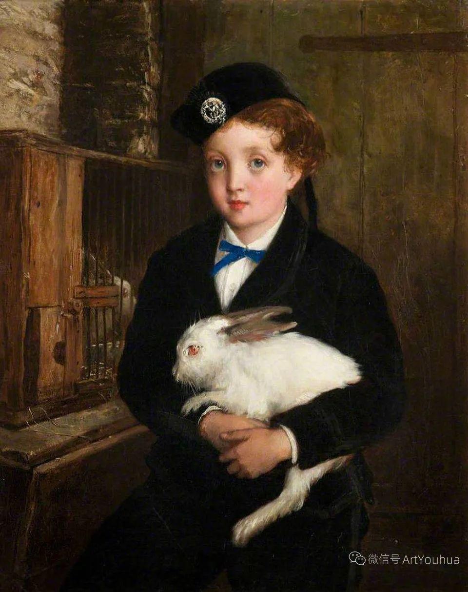 纯情与美丽,英国画家威廉·奥利弗作品选插图69