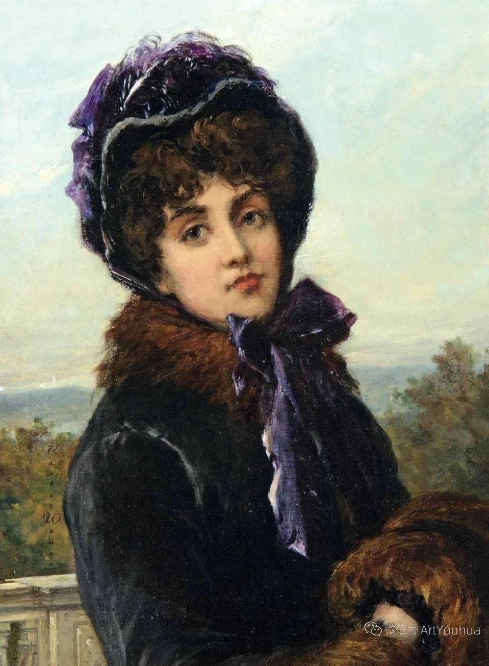 纯情与美丽,英国画家威廉·奥利弗作品选插图75
