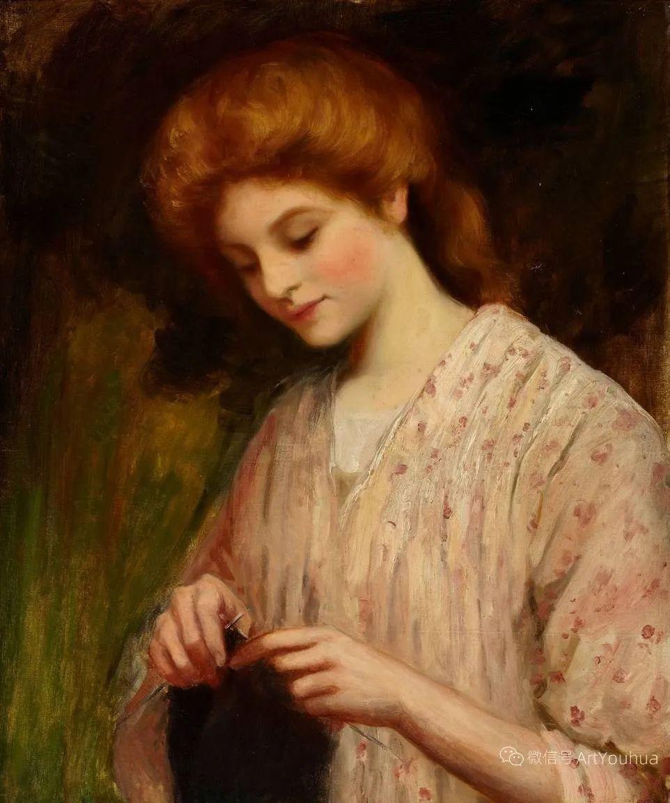 纯情与美丽,英国画家威廉·奥利弗作品选插图77