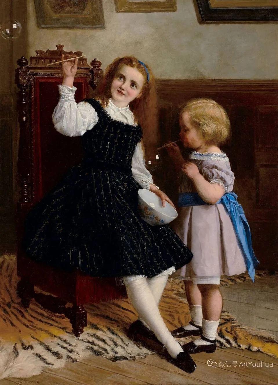 纯情与美丽,英国画家威廉·奥利弗作品选插图81