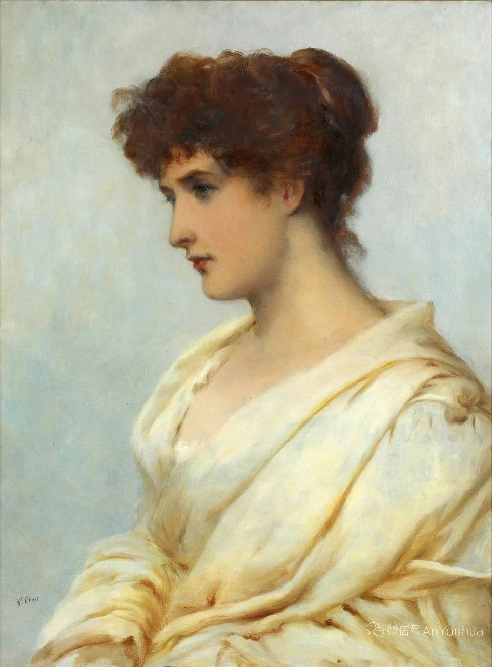 纯情与美丽,英国画家威廉·奥利弗作品选插图85