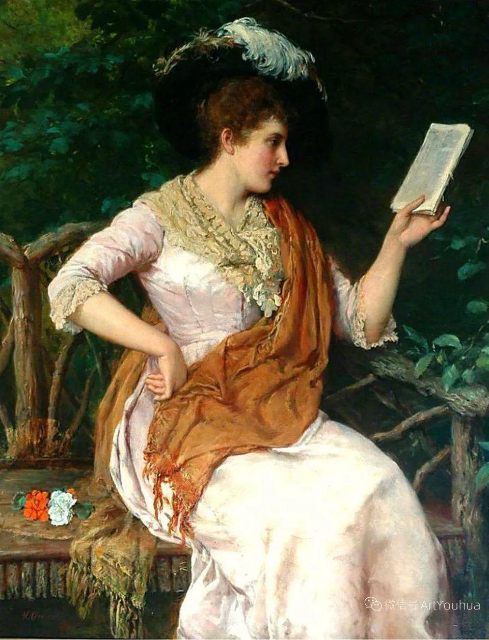 纯情与美丽,英国画家威廉·奥利弗作品选插图89