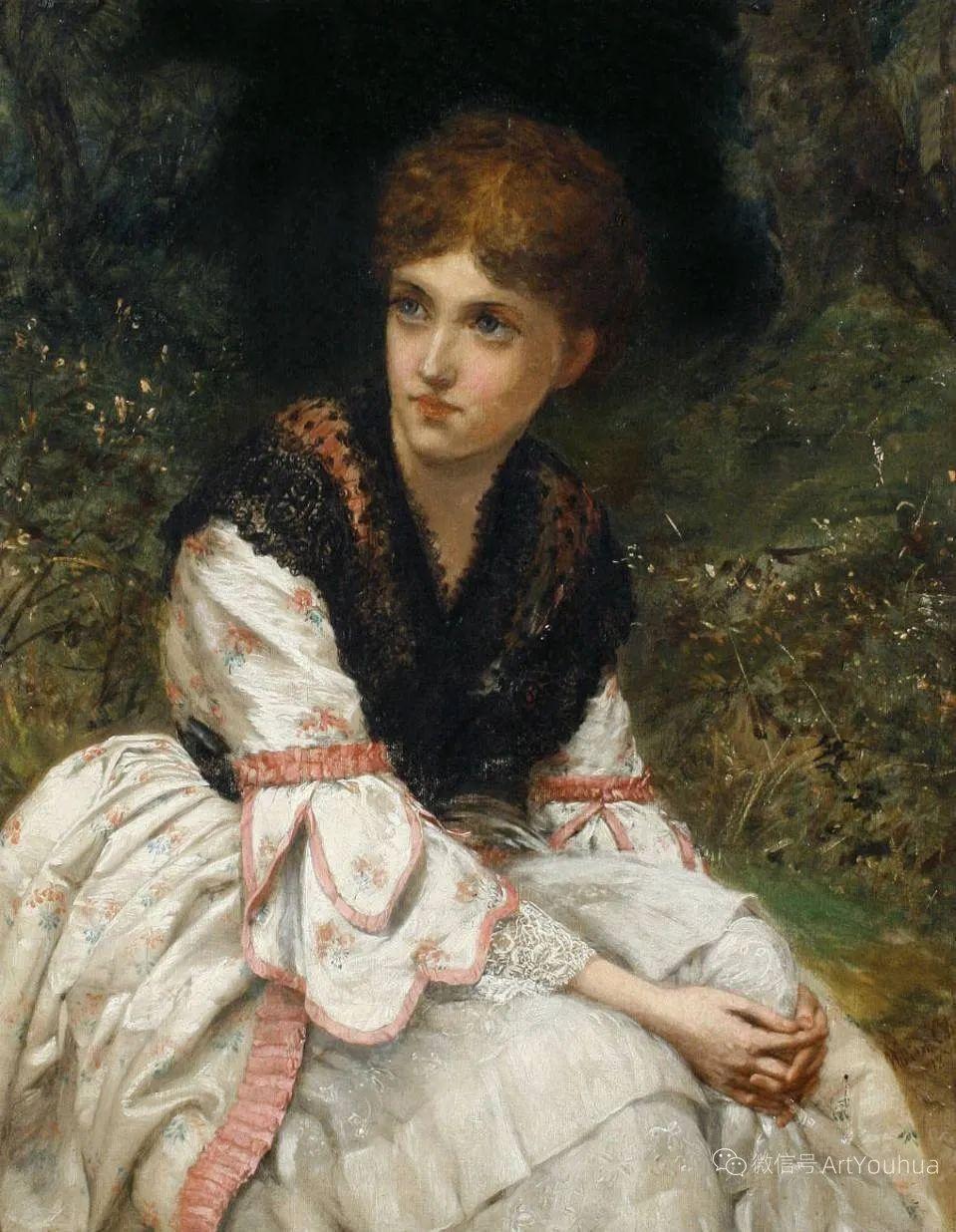 纯情与美丽,英国画家威廉·奥利弗作品选插图91