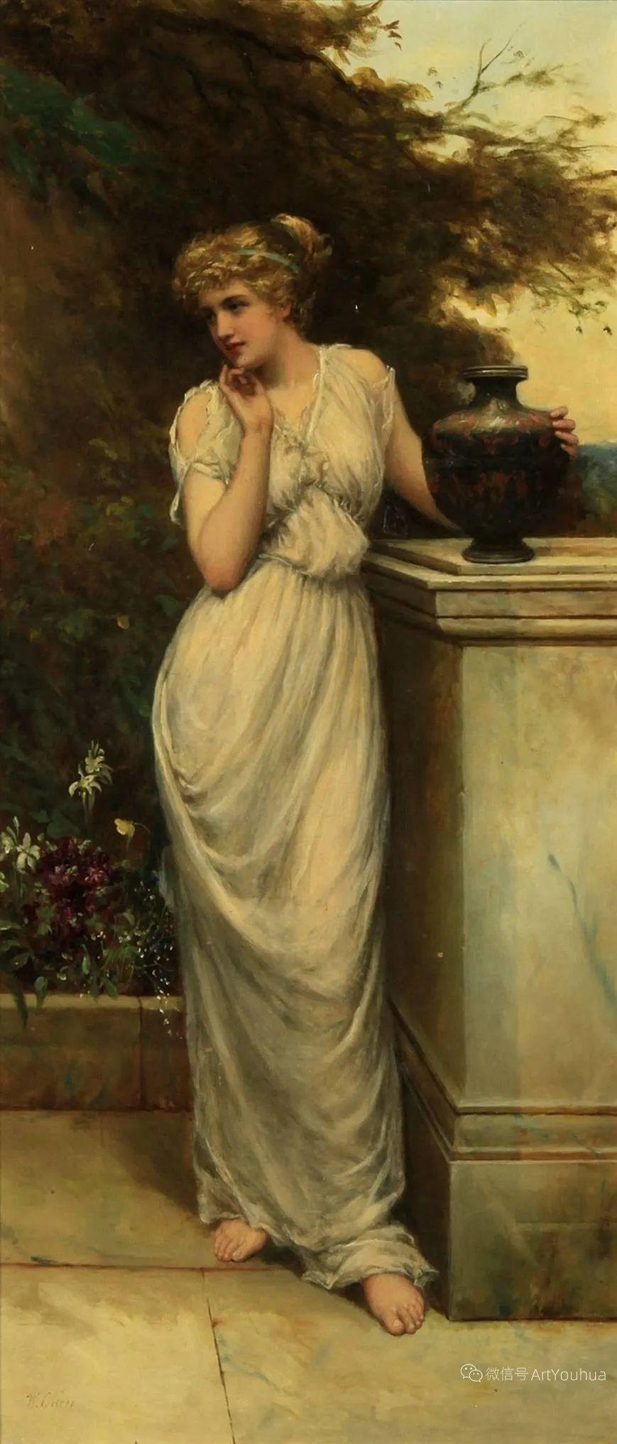 纯情与美丽,英国画家威廉·奥利弗作品选插图95
