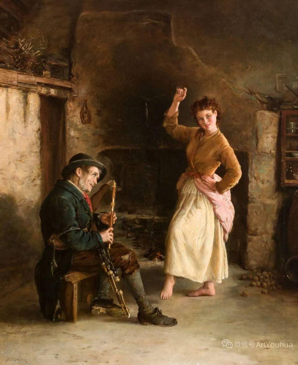 纯情与美丽,英国画家威廉·奥利弗作品选插图99