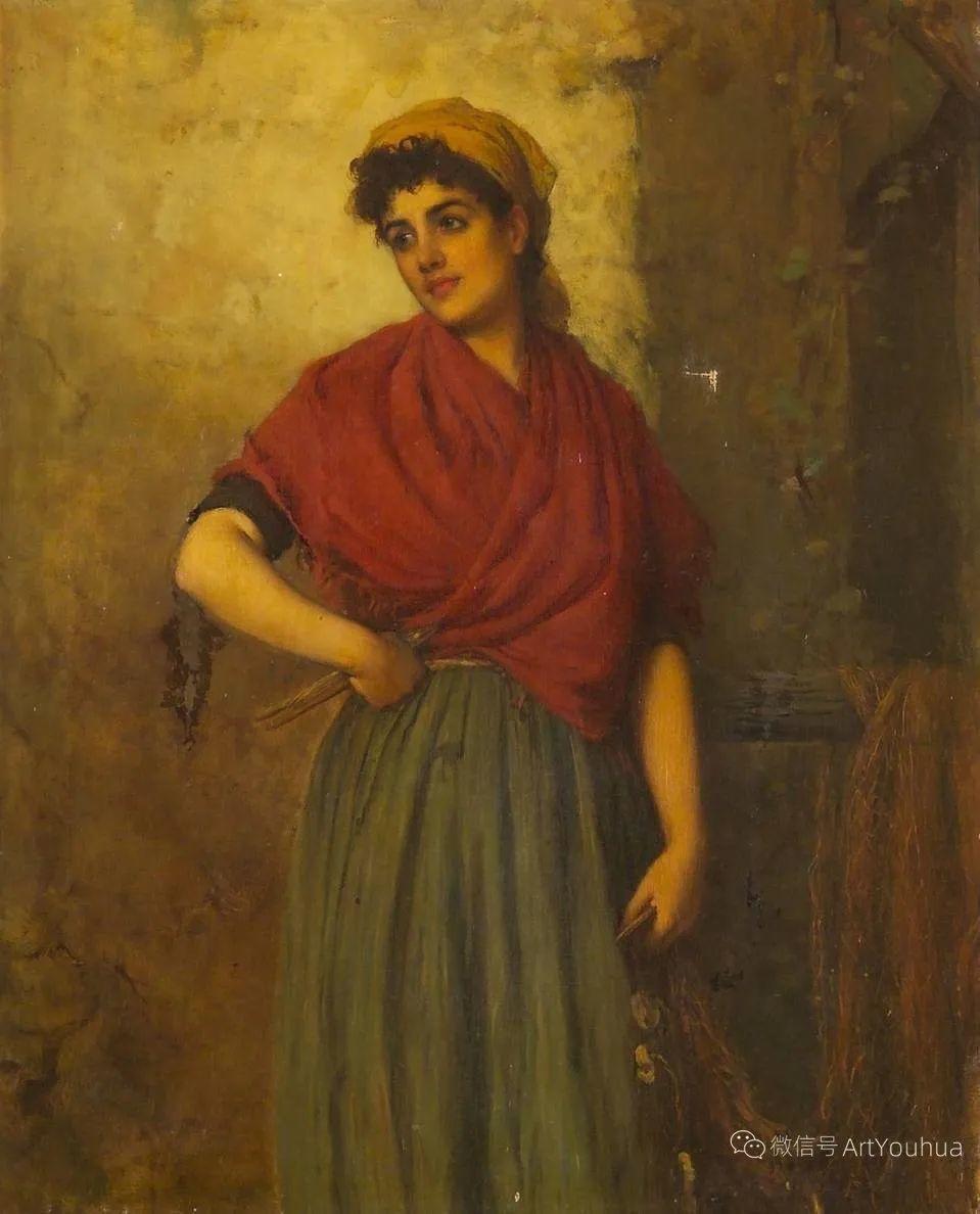 纯情与美丽,英国画家威廉·奥利弗作品选插图101