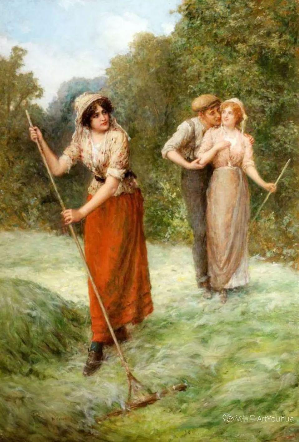 纯情与美丽,英国画家威廉·奥利弗作品选插图103
