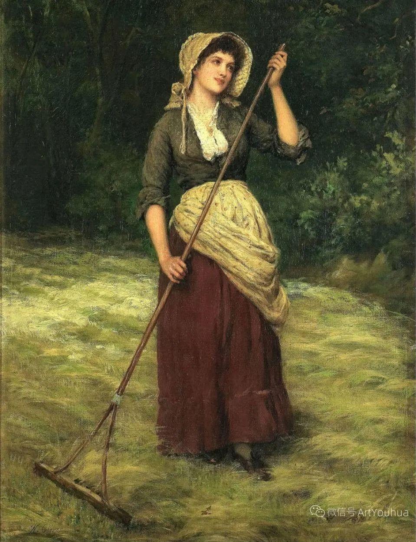 纯情与美丽,英国画家威廉·奥利弗作品选插图105