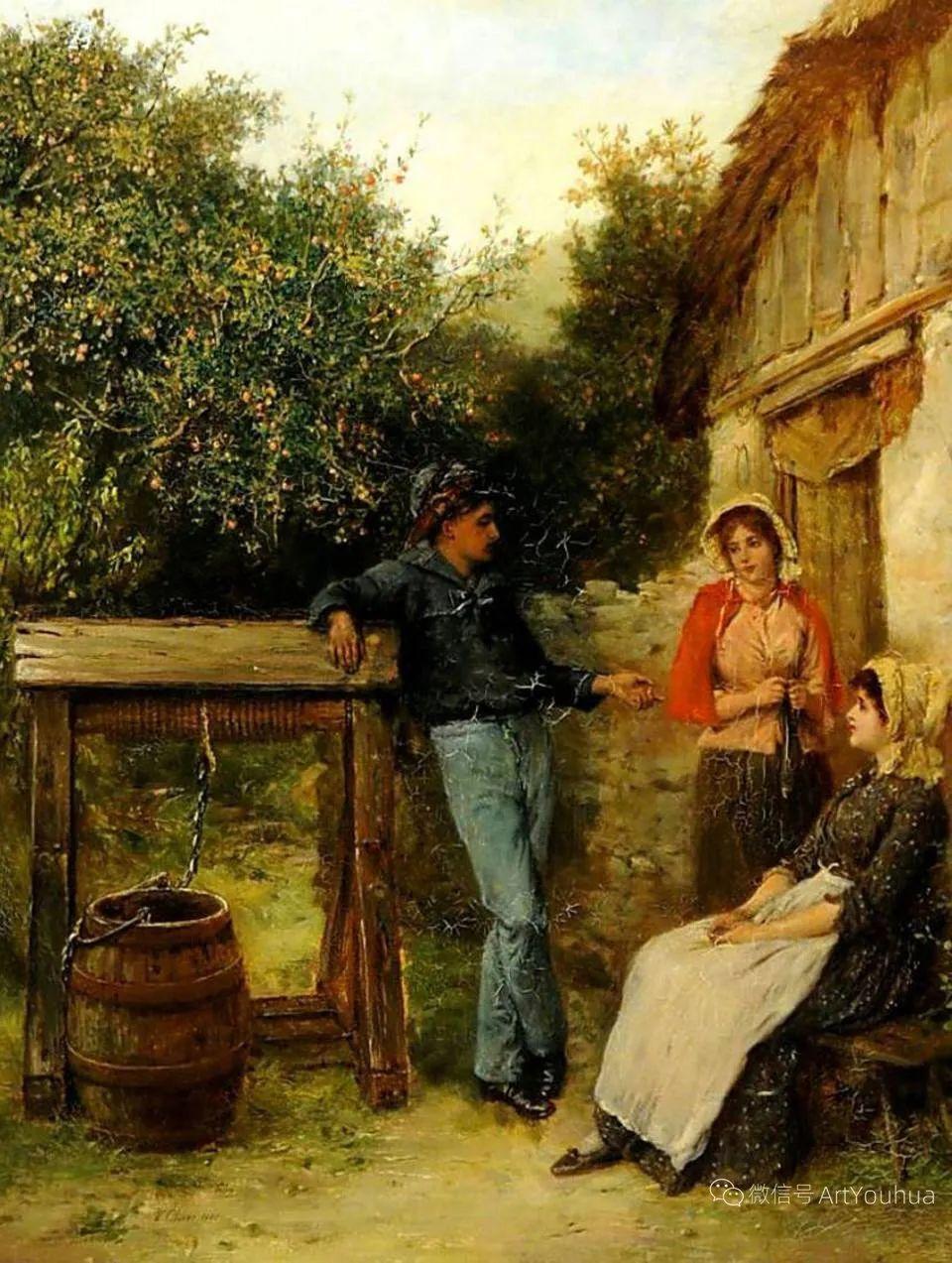 纯情与美丽,英国画家威廉·奥利弗作品选插图107