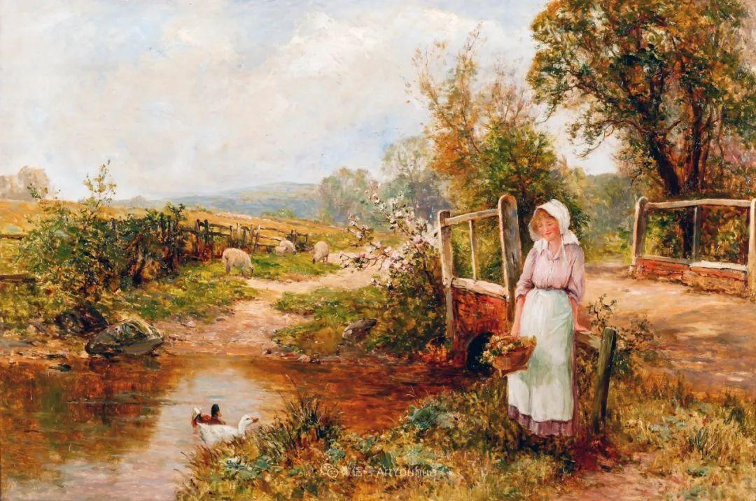 他笔下的绝美乡村景象,真令人向往!英国画家Ernest Charles Walbourn作品(上)插图9
