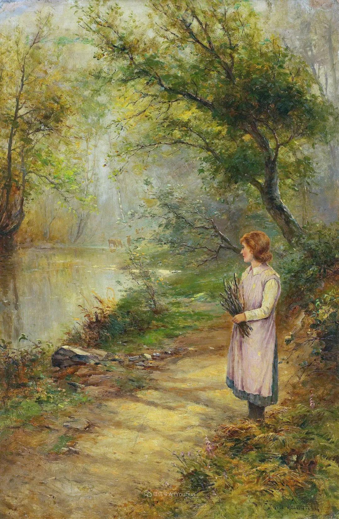 他笔下的绝美乡村景象,真令人向往!英国画家Ernest Charles Walbourn作品(上)插图20