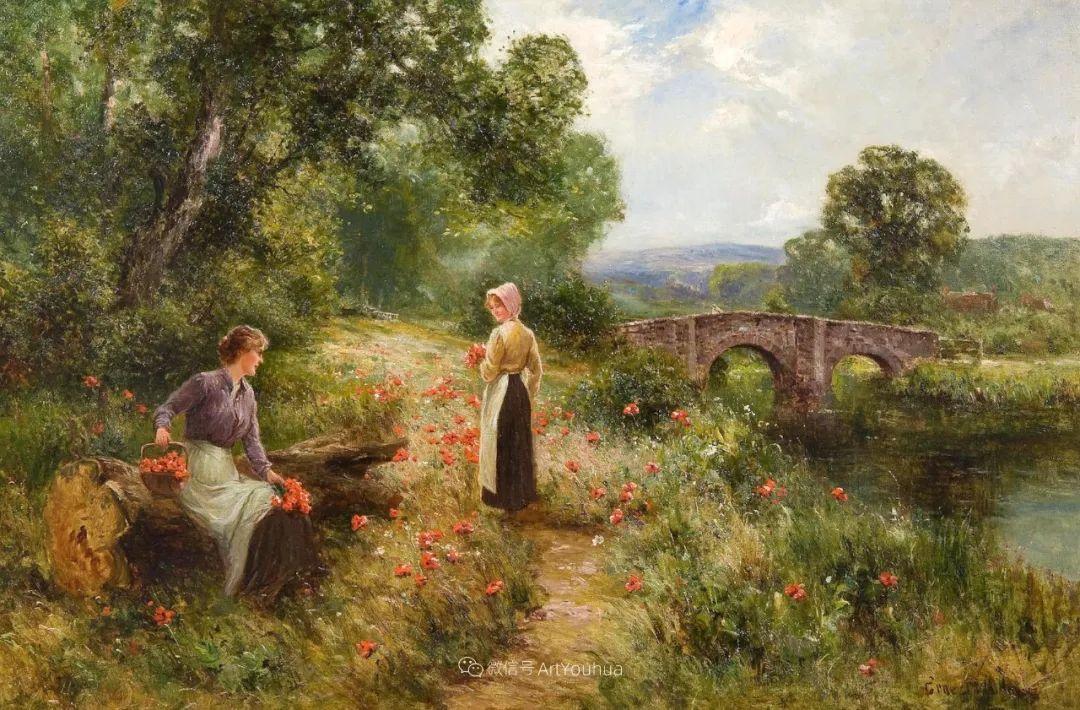 他笔下的绝美乡村景象,真令人向往!英国画家Ernest Charles Walbourn作品(上)插图30