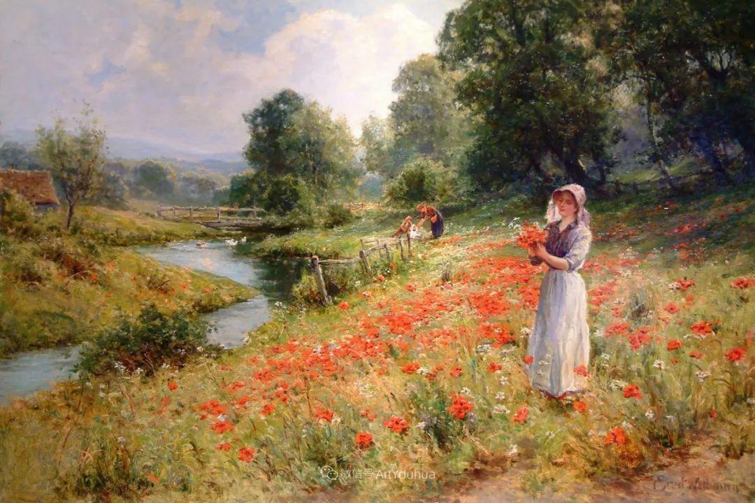 他笔下的绝美乡村景象,真令人向往!英国画家Ernest Charles Walbourn作品(上)插图31