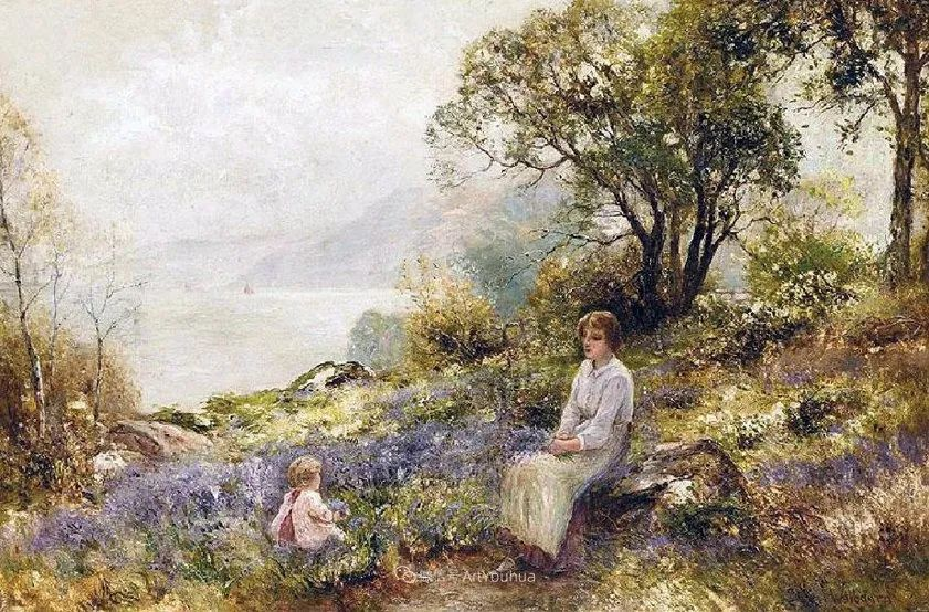 他笔下的绝美乡村景象,真令人向往!英国画家Ernest Charles Walbourn作品(上)插图39