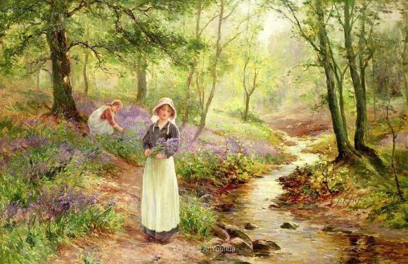 他笔下的绝美乡村景象,真令人向往!英国画家Ernest Charles Walbourn作品(上)插图40