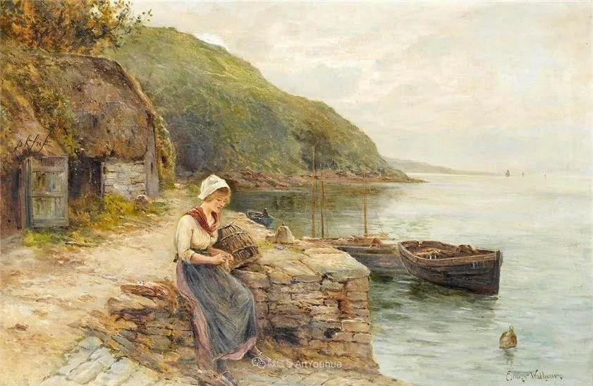 他笔下的绝美乡村景象,真令人向往!英国画家Ernest Charles Walbourn作品(上)插图42