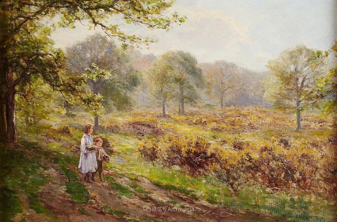 他笔下的绝美乡村景象,真令人向往!英国画家Ernest Charles Walbourn作品(上)插图44