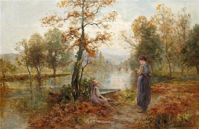 他笔下的绝美乡村景象,真令人向往!英国画家Ernest Charles Walbourn作品(上)插图45