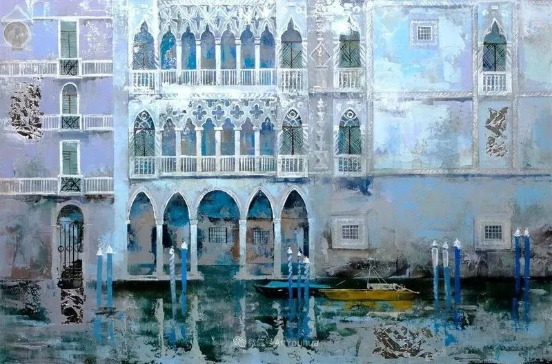 她画的建筑,色彩太迷人了!捷克女艺术家维罗妮卡·贝诺尼插图23