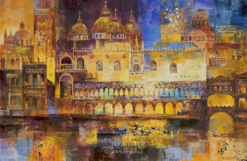 她画的建筑,色彩太迷人了!捷克女艺术家维罗妮卡·贝诺尼插图29