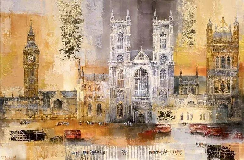 她画的建筑,色彩太迷人了!捷克女艺术家维罗妮卡·贝诺尼插图43