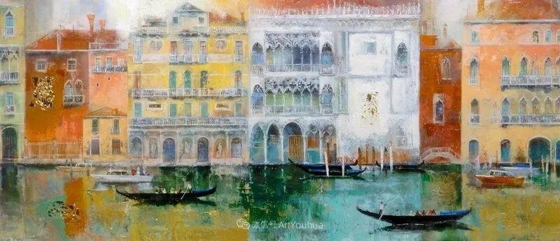 她画的建筑,色彩太迷人了!捷克女艺术家维罗妮卡·贝诺尼插图48