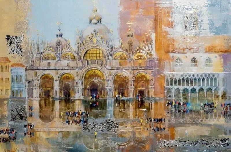 她画的建筑,色彩太迷人了!捷克女艺术家维罗妮卡·贝诺尼插图51
