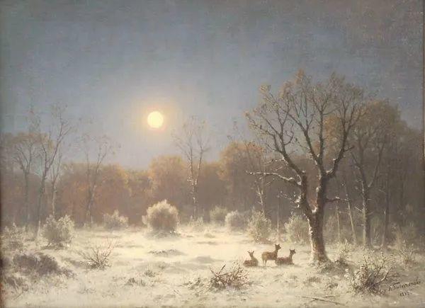 波兰风景画家亚历山大·斯维谢夫斯基(1839-1895)插图4