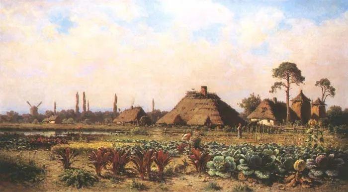波兰风景画家亚历山大·斯维谢夫斯基(1839-1895)插图8