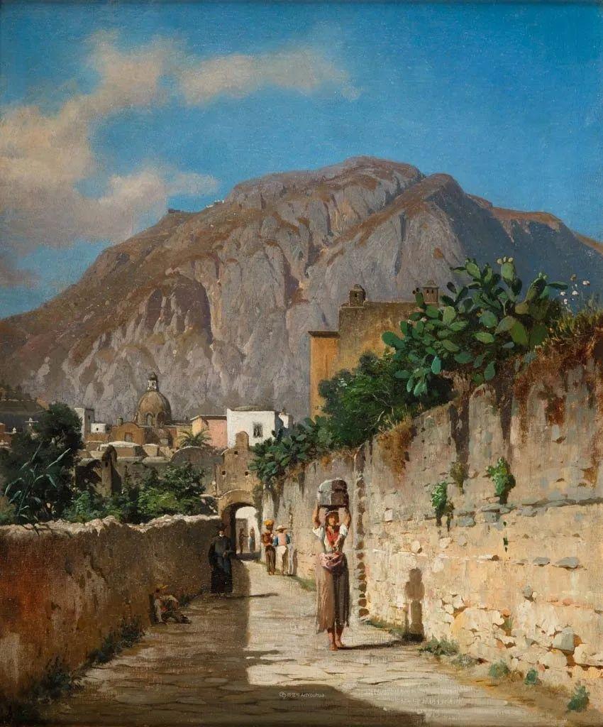 波兰风景画家亚历山大·斯维谢夫斯基(1839-1895)插图16
