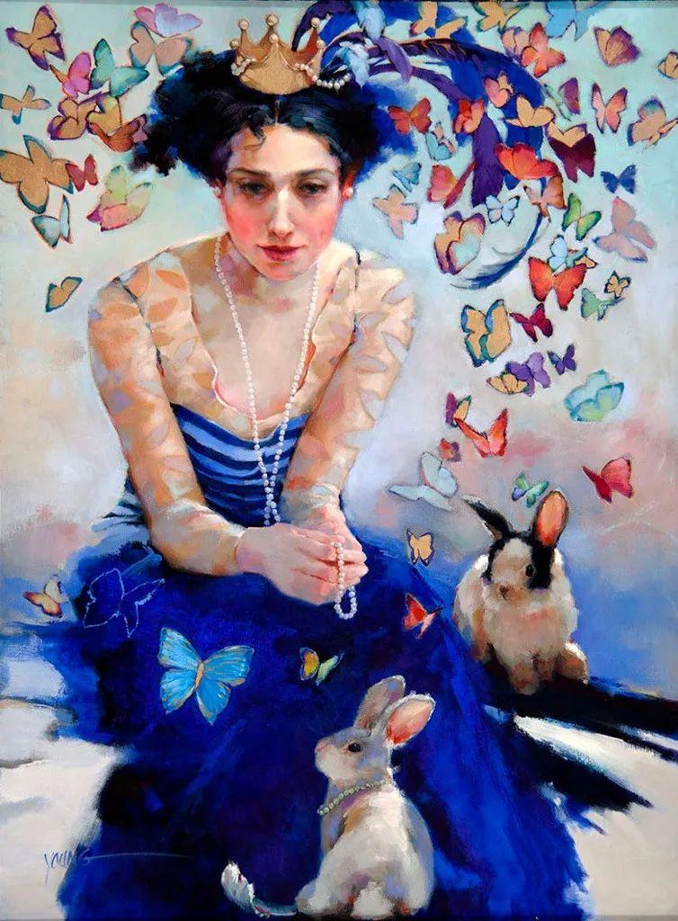 色彩表现浑然天成,她画出了心中的睡莲!德国艺术家唐娜·杨插图87