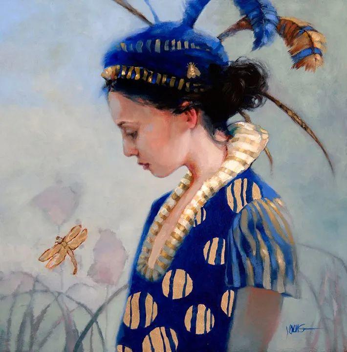 色彩表现浑然天成,她画出了心中的睡莲!德国艺术家唐娜·杨插图89