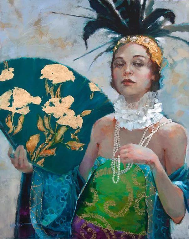 色彩表现浑然天成,她画出了心中的睡莲!德国艺术家唐娜·杨插图93